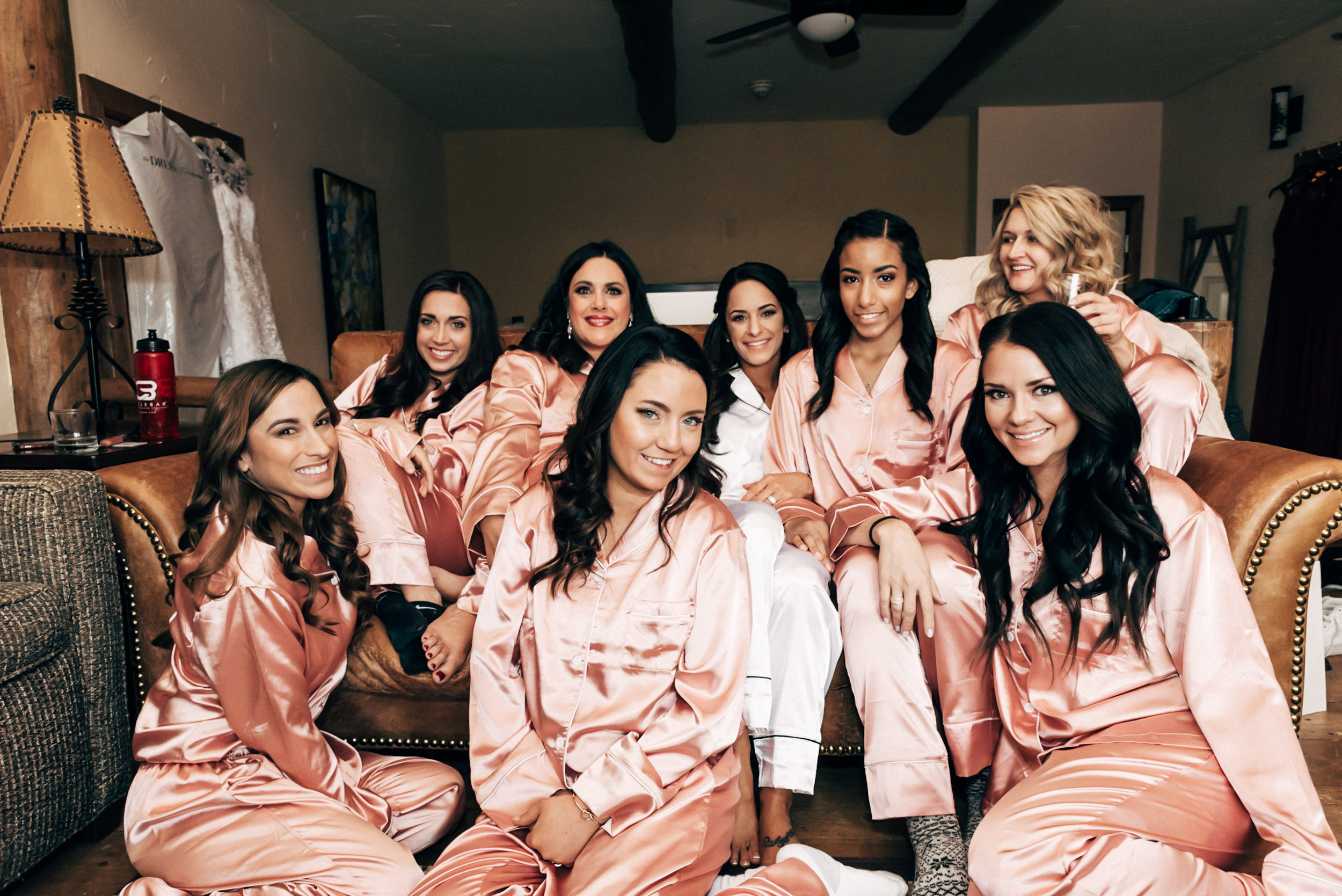 Beautiful bridesmaids at Colorado mountain wedding, Lodge at Breckenridge, Colorado Wedding Photographer