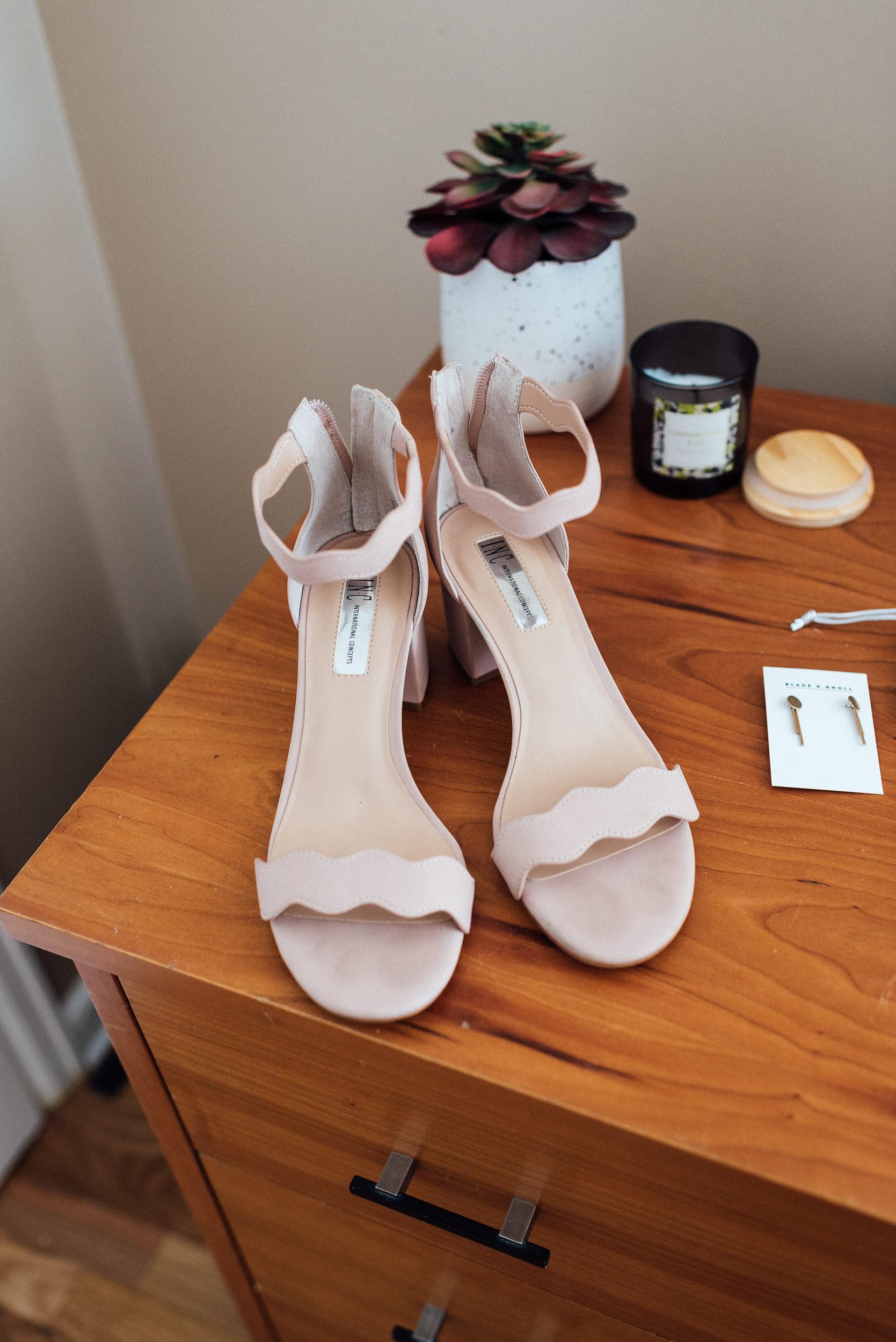 Shoes of Denver Bride-Colorado Wedding Photographers