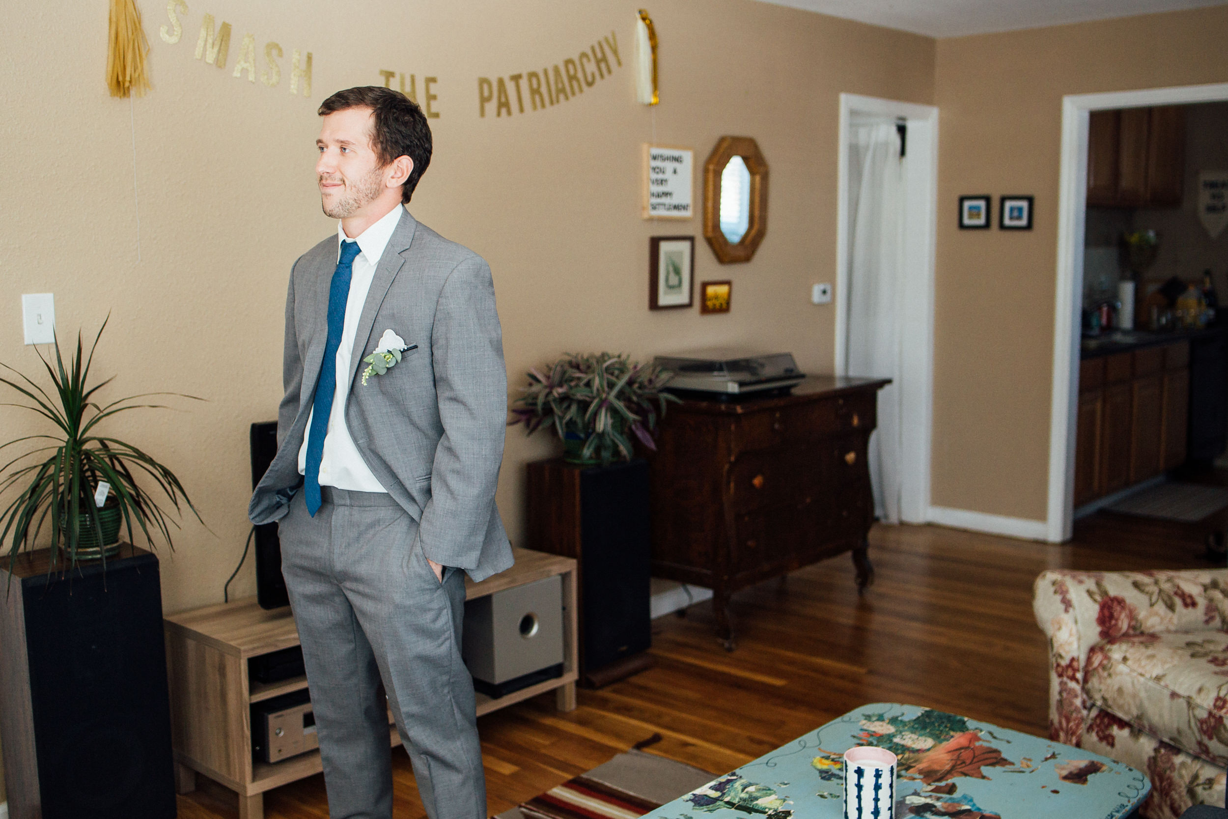 First look of Colorado wedding-Colorado Kate Photography