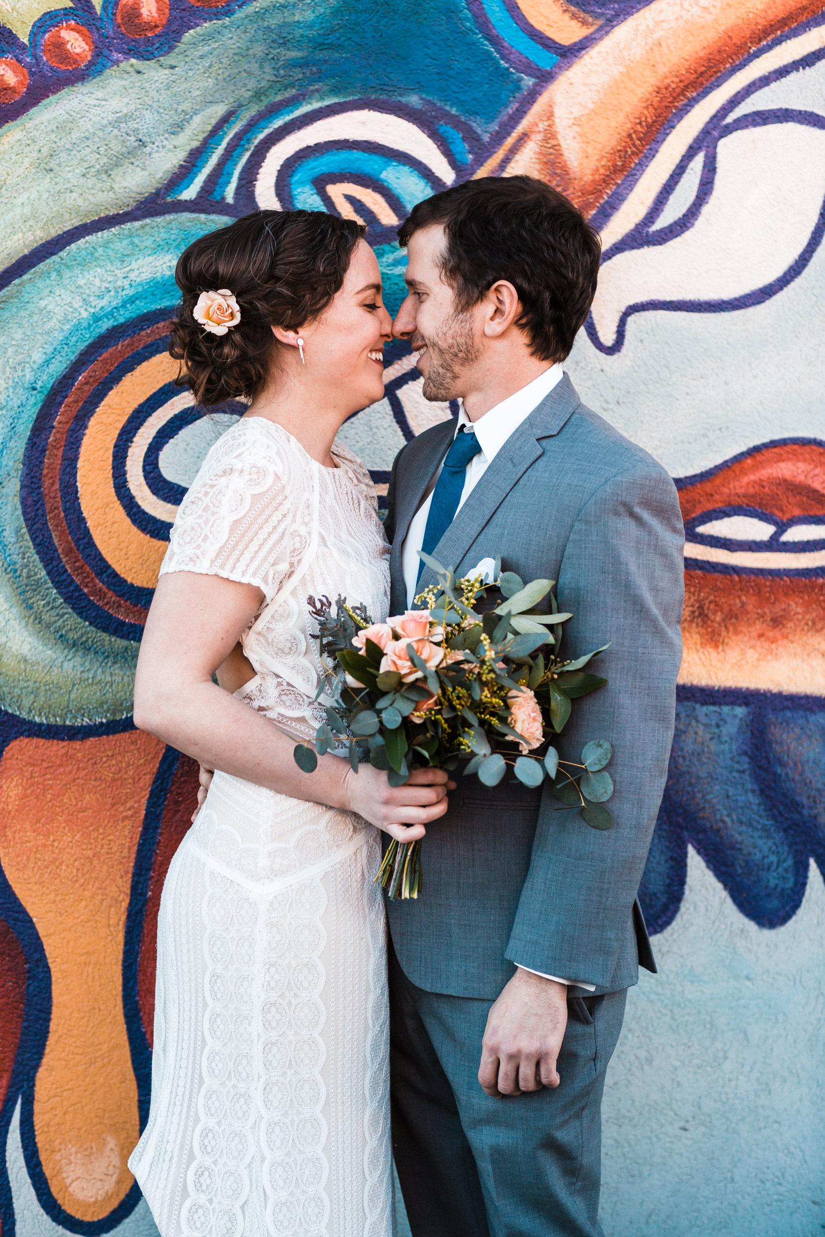 Wedding at Denver Santa Fe Art District-Colorado wedding