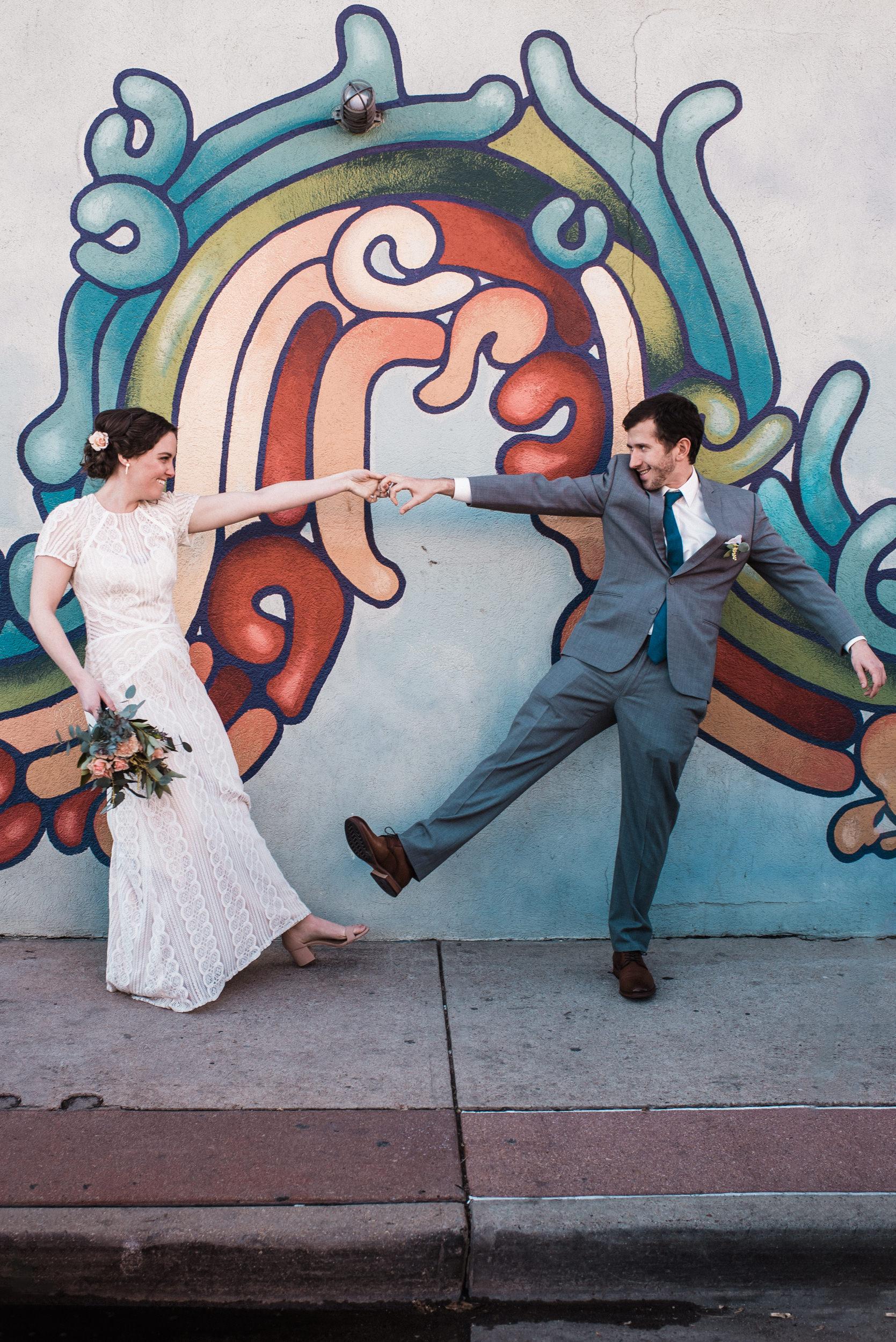 Fun Denver Wedding photos-dancing-laid back wedding photographer