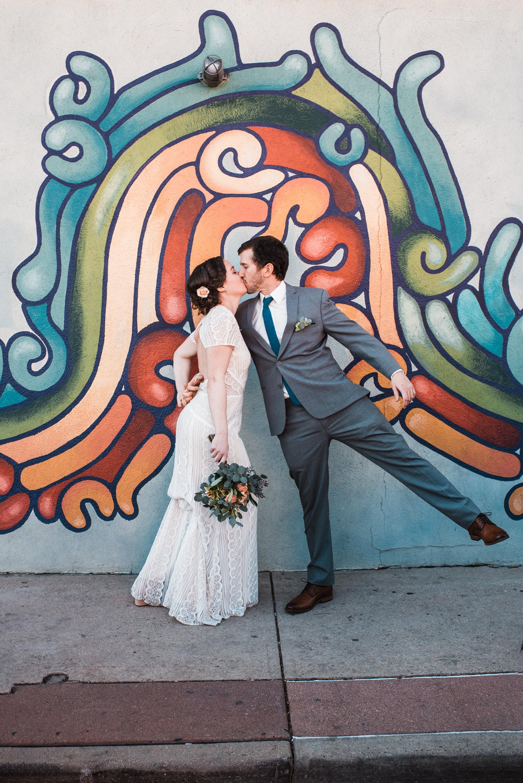 Urban wedding in Denver Colorado-Colorado Kate Photography