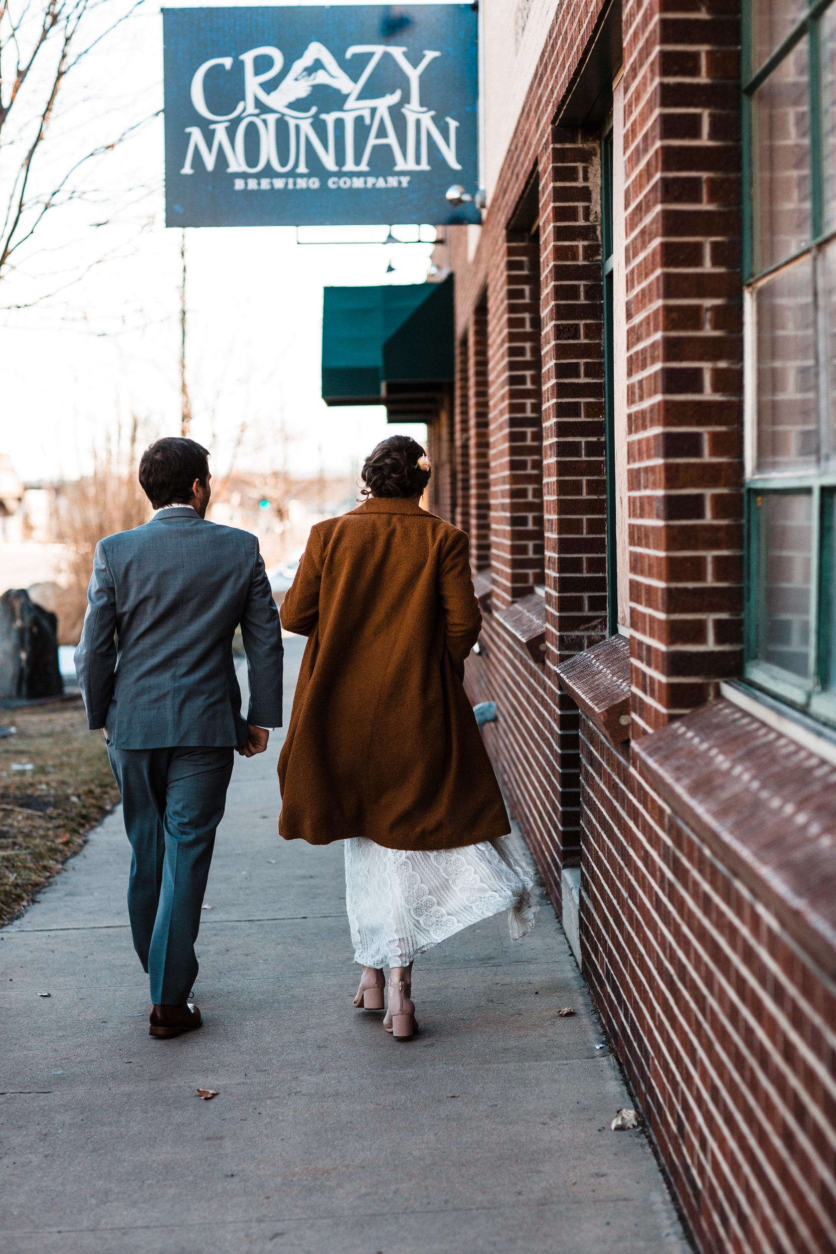 Wedding Denver Brewery-Colorado Wedding Photographer