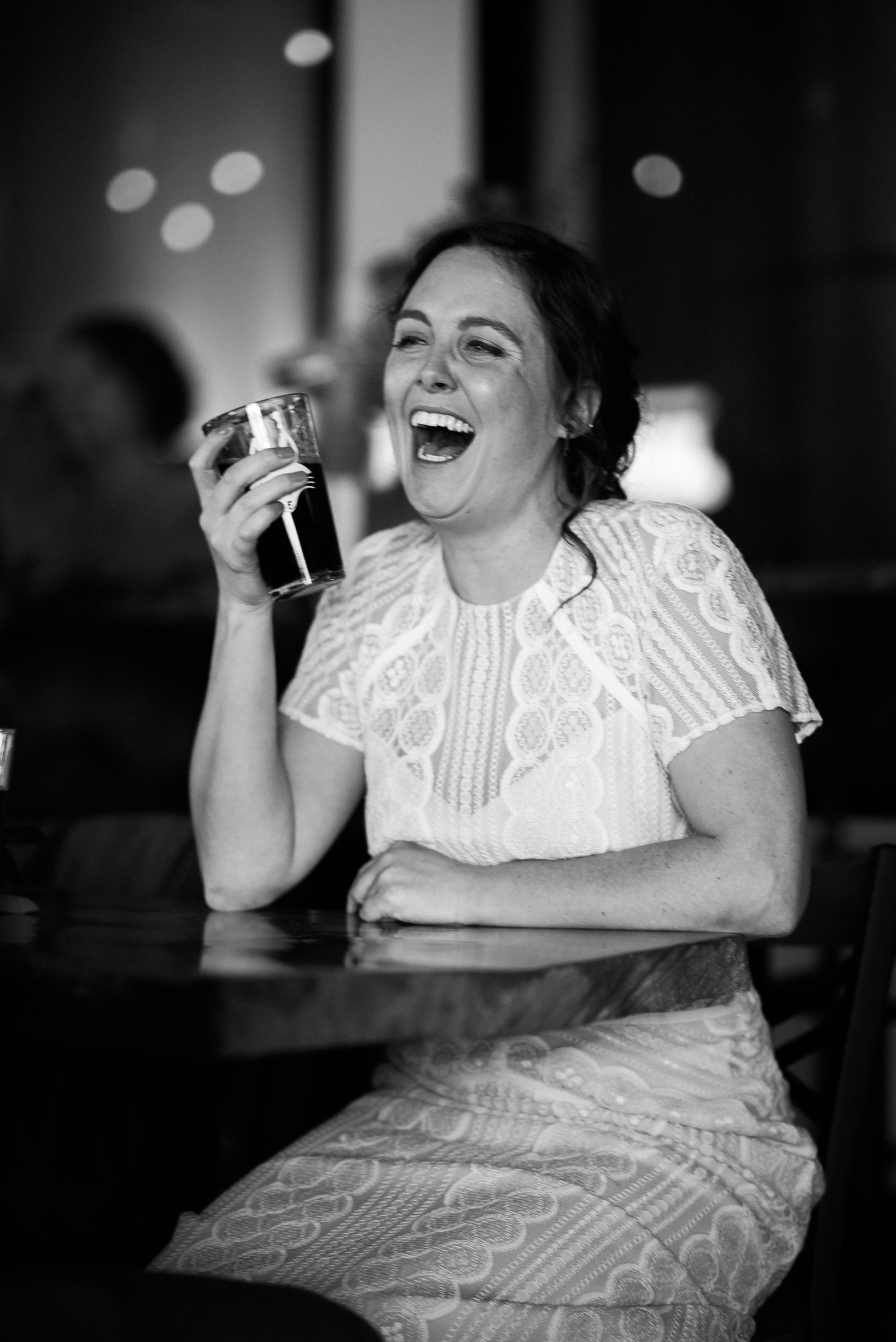 Bride and brews at Colorado Wedding-Colorado Elopement Photographer