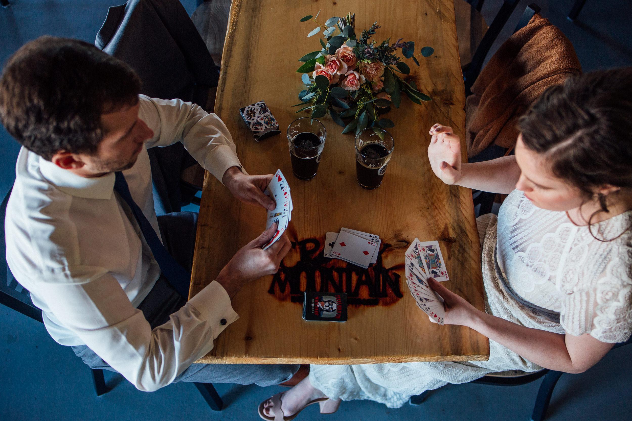 Denver Brewery birds eye view-Colorado Wedding Photographer