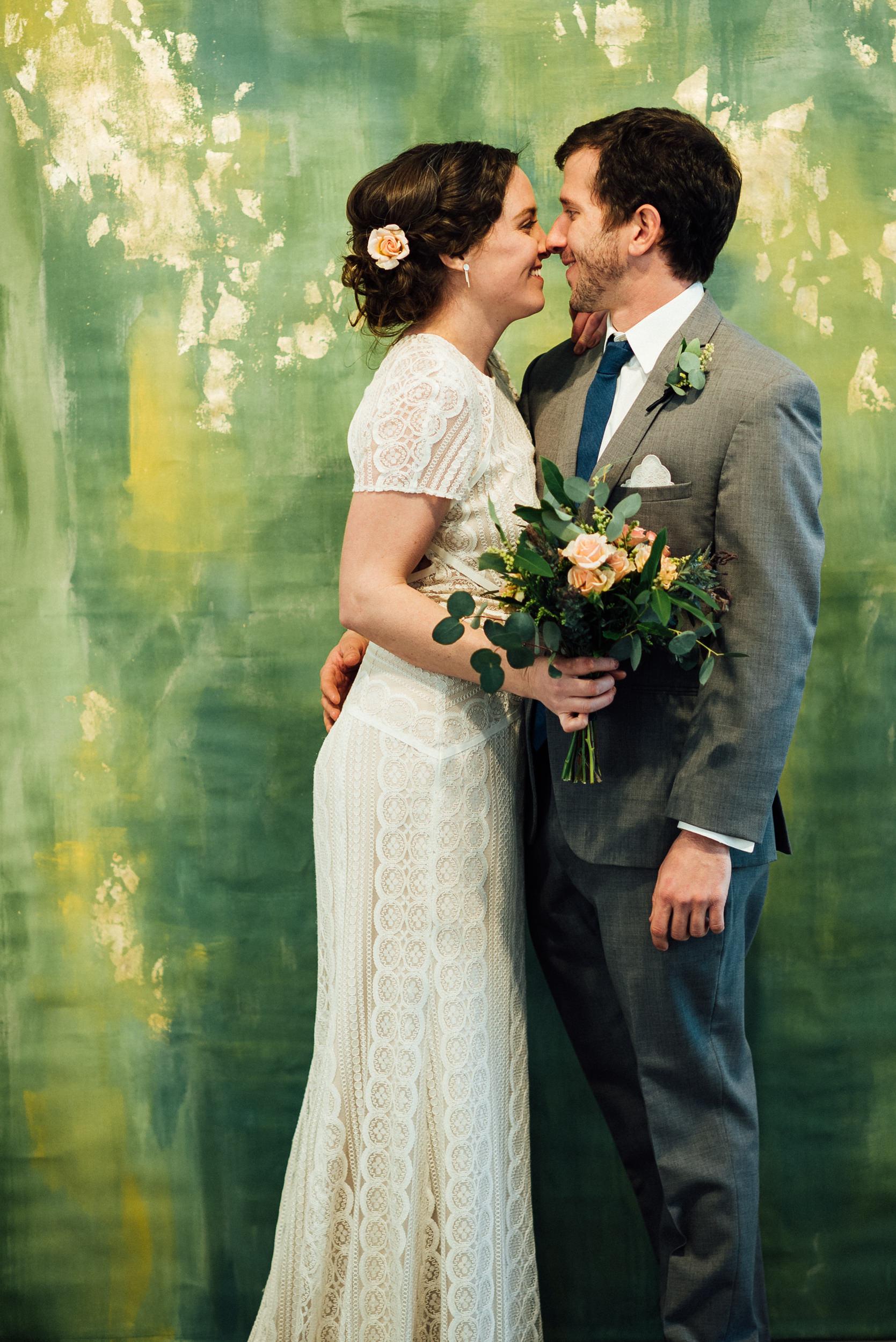 Space Gallery wedding photographer
