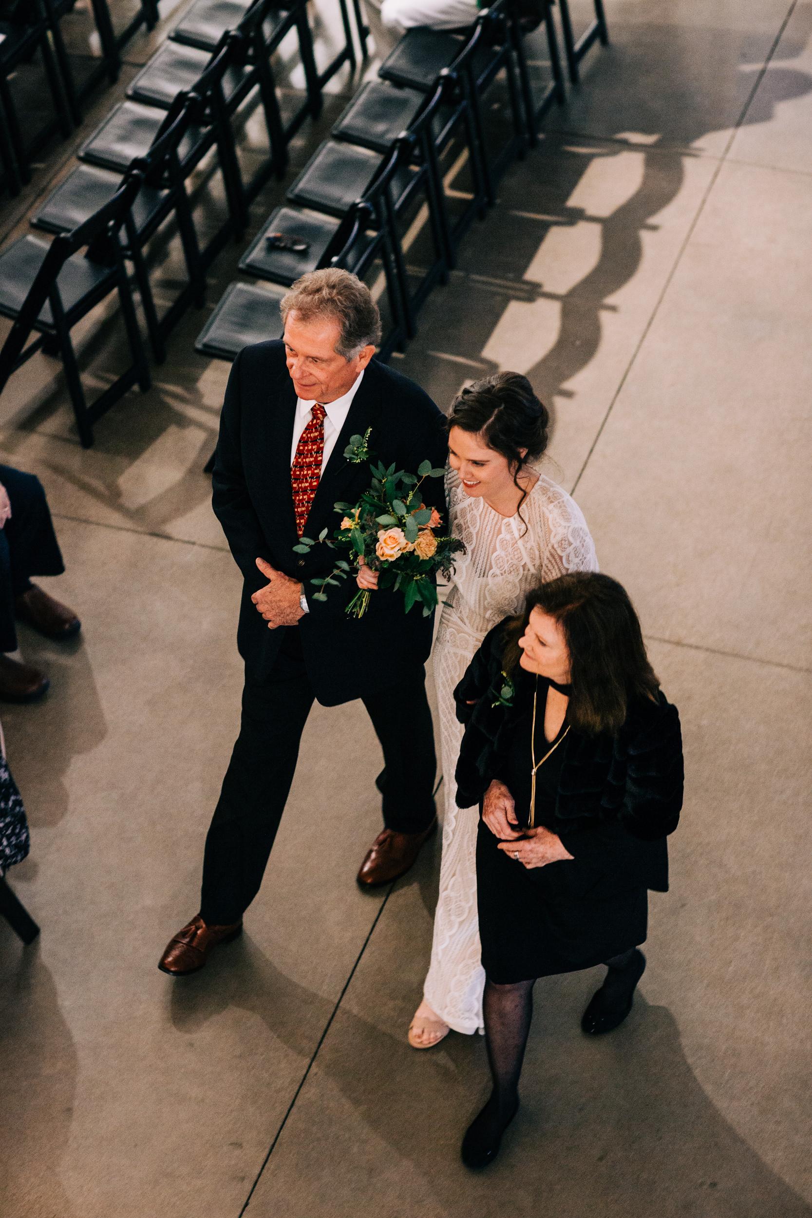 Space Gallery Denver Colorado Wedding Ceremony-Top Colorado Photographer