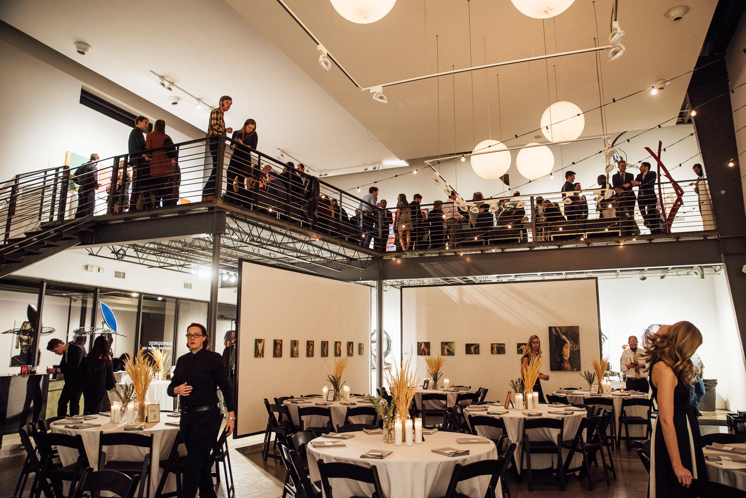 Space Gallery Reception-Denver Colorado