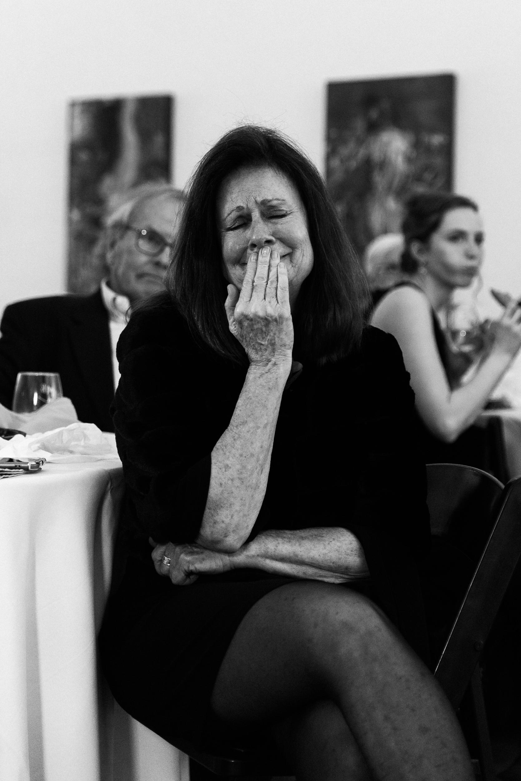 Emotions running very high at Colorado's Space Gallery wedding-Denver Wedding Photographer