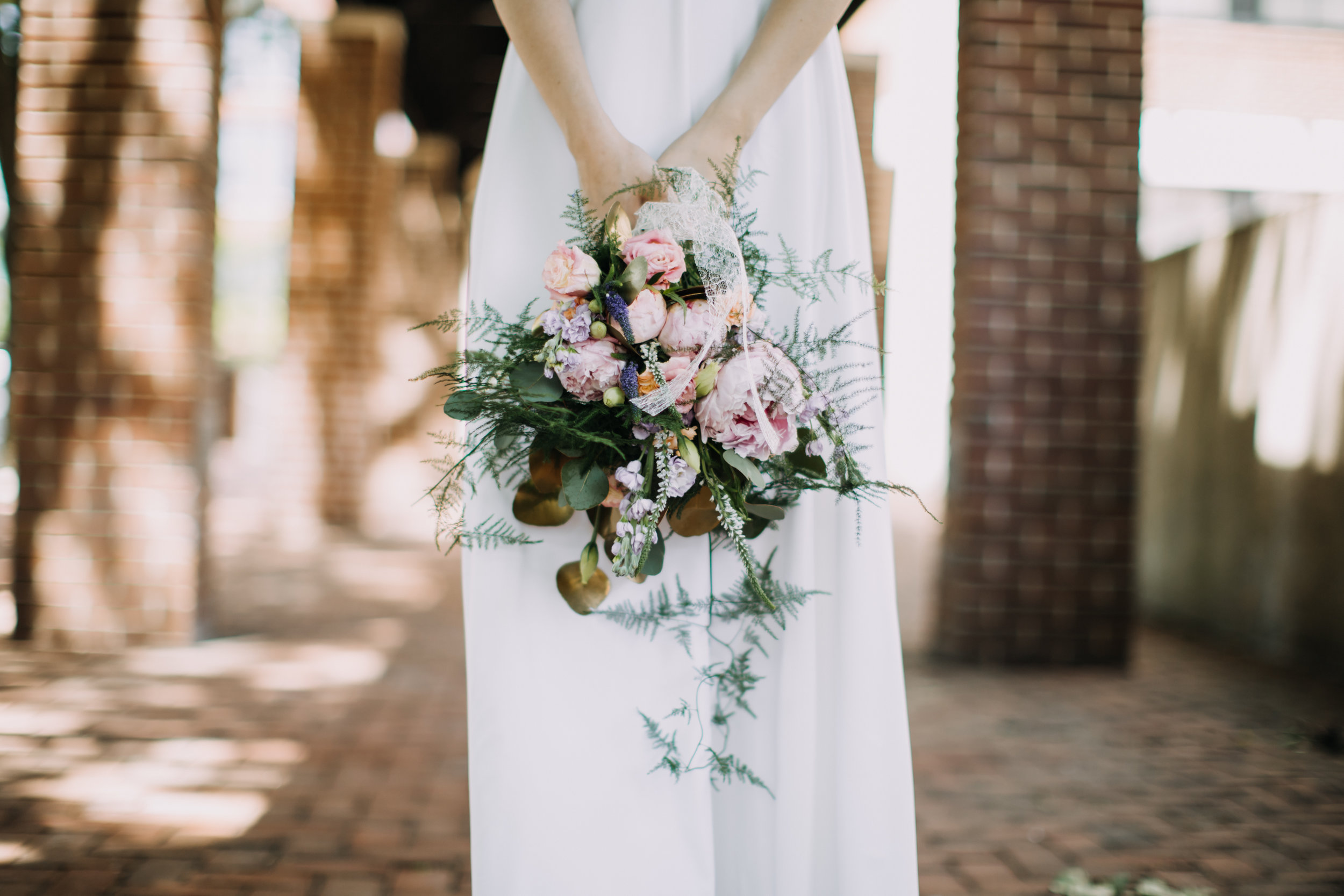 - styled wedding florals & design