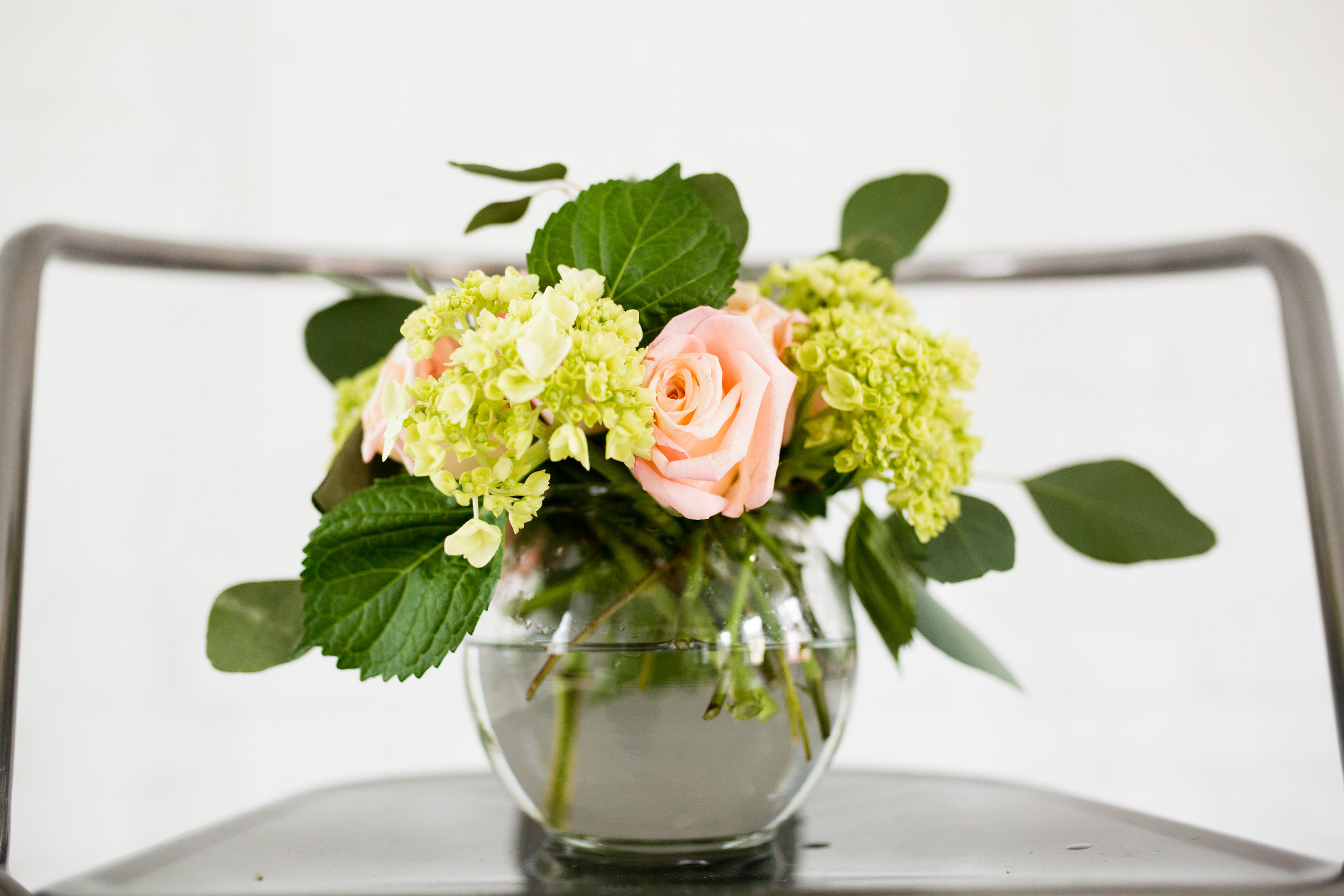 - styled florals