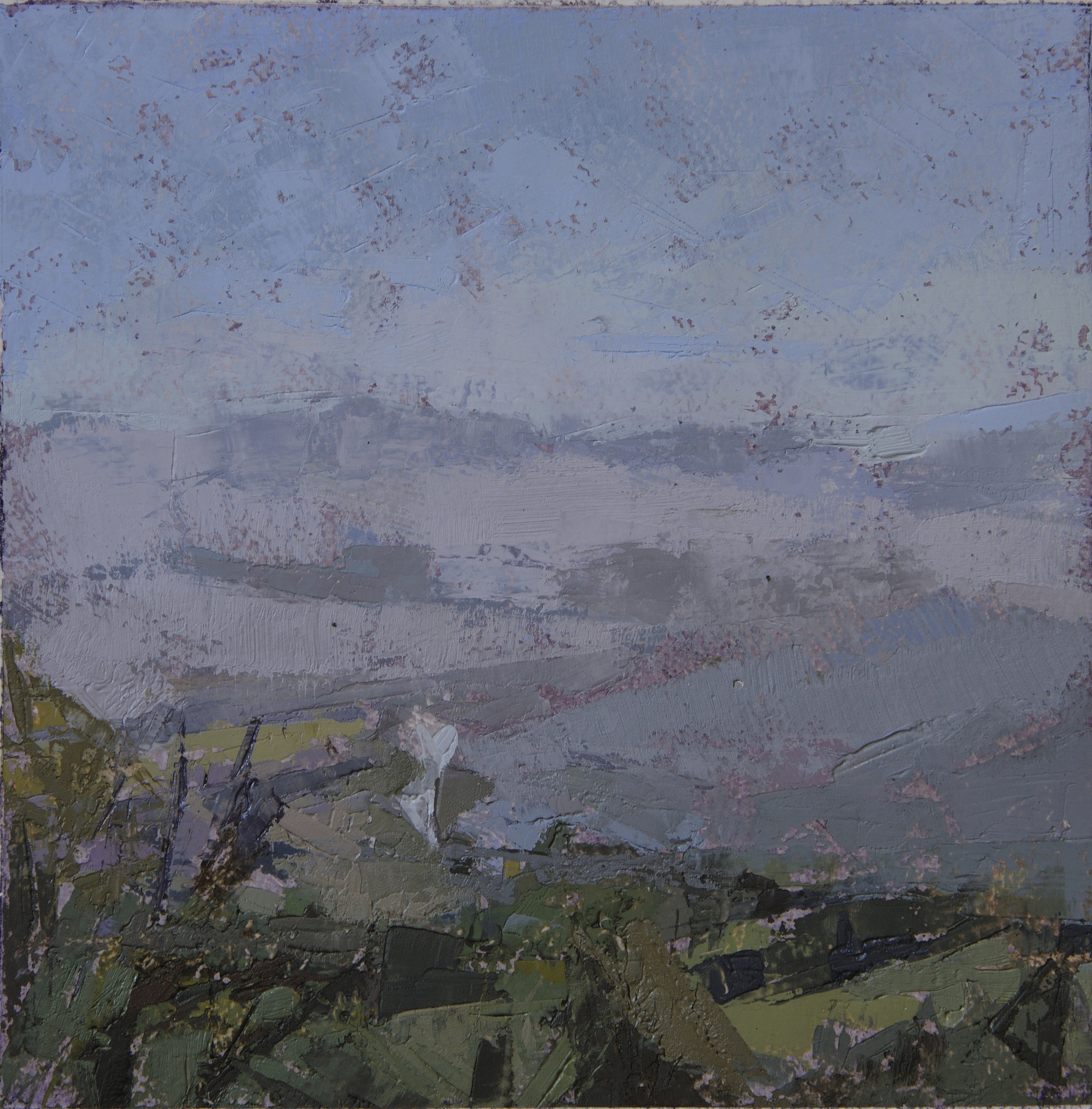 Umbrian Landscape: Gray Day