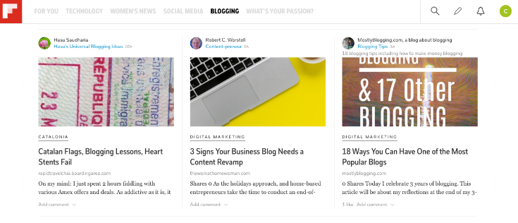 How to use Flipboard to make social media easier