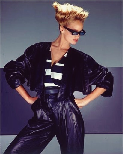 Power Suit of the Day: Versace, January 1984