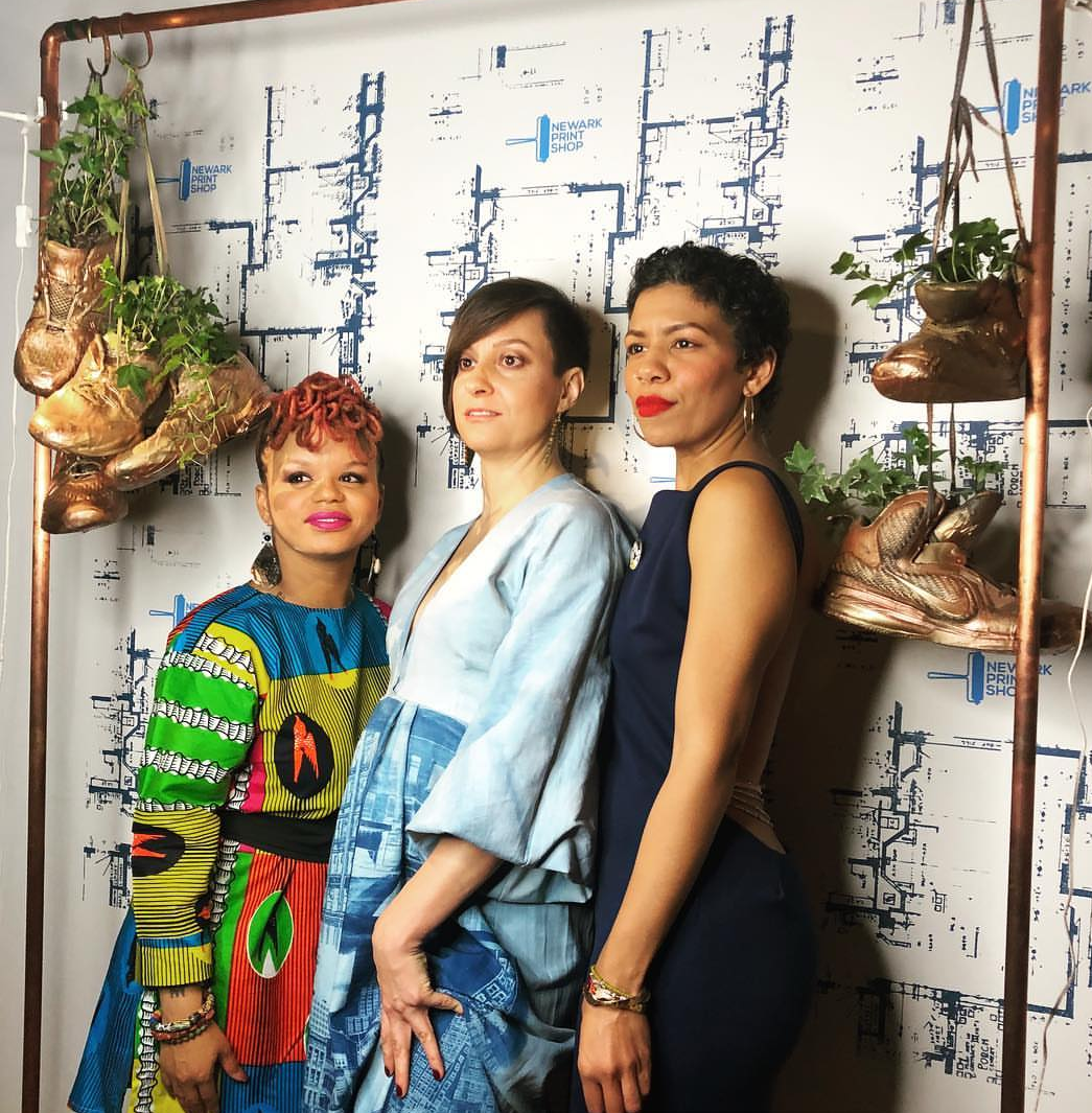 LTNLTL x LRWP x coLAB  Hanging Planter with Kween Moore, Lisa Conrad, and Jillian Rock @ Newark Print Shop's Impact Awards & Art Aution @ Newark Express in the Hahnes Building