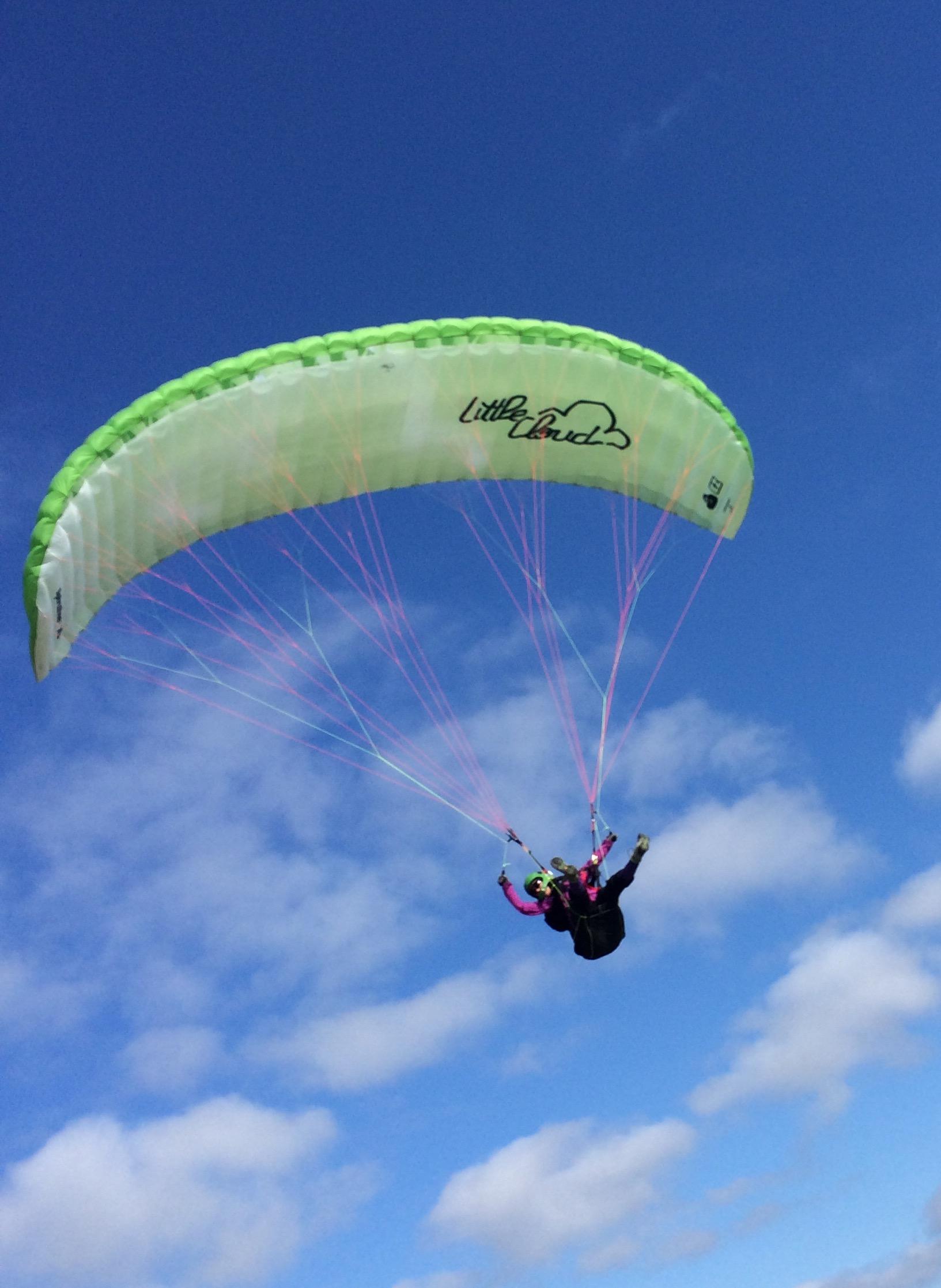 LeslieBird enjoying her soaring session
