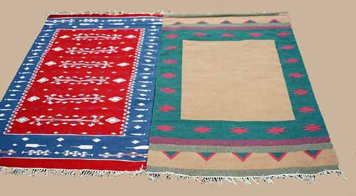 Indian Styled Rugs Durries The