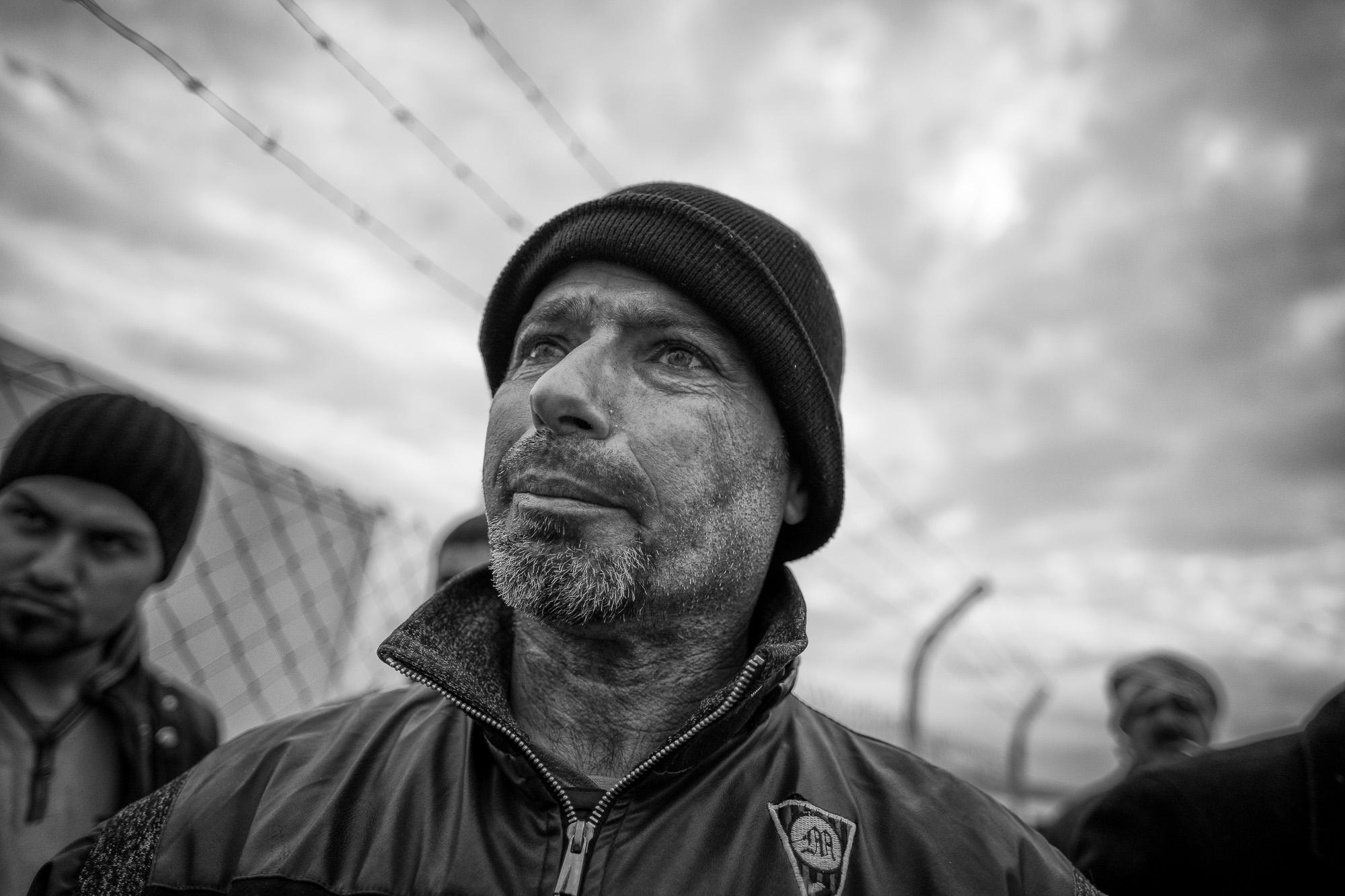 Mosul/Erbil, Irak. December 2016    Hans ögon har sett för mycket    Visa berättelsen >>