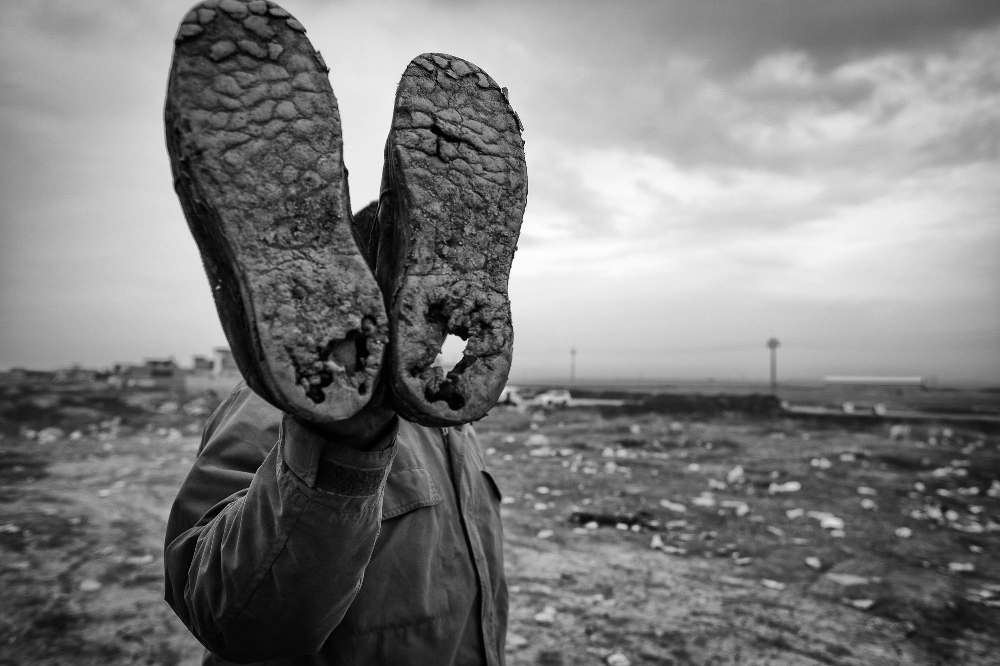 Mosul/Erbil, Irak. Januari 2017    Det är för lite humanism    Visa berättelsen >>