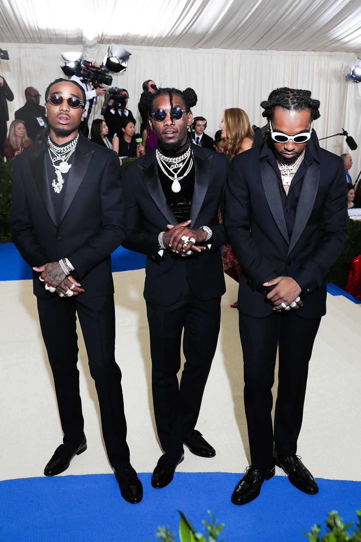 """Migos x """"Rei Kawakubo/Comme des Garcons: Art Of The In-Between"""" photo by Prutting/BFA/REX/Shutterstocl"""