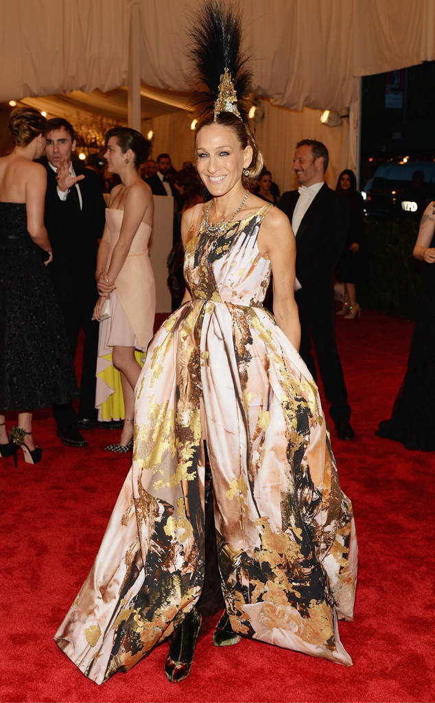 """Sarah Jessica Parker x""""Punk: Chaos to Couture,"""""""