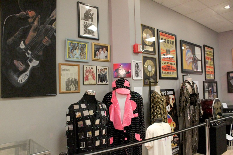 Photo inside of the Funk Museum and Exhibition Center in downtown Dayton. Photo: Amelia Robinson