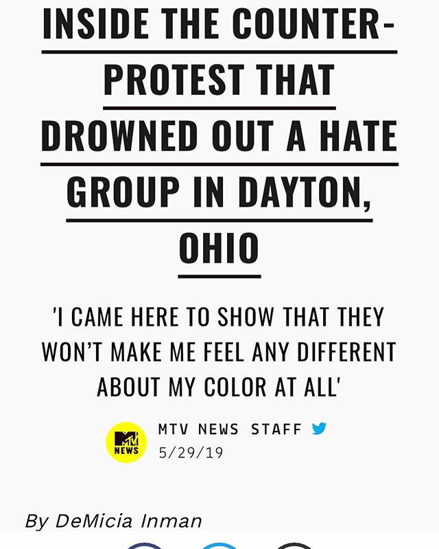 READ MY REPORT COVERING A COUNTER PROTEST AGAINST THE KKK HERE -