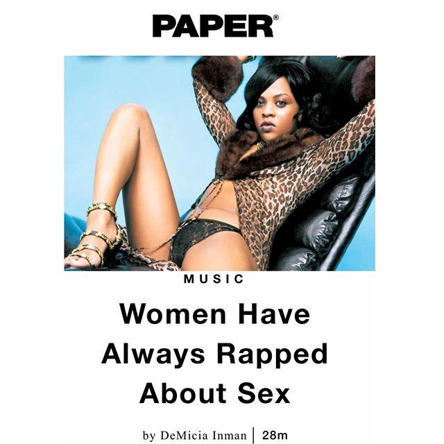 READ MY ARTICLE ON WOMEN IN HIP HOP -