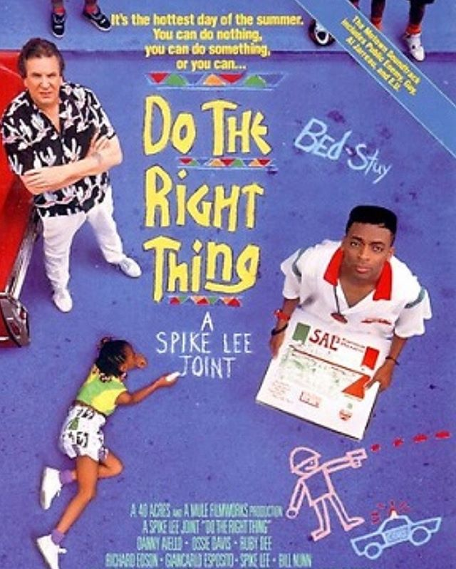 Celebrating the 30th anniversary of #DoTheRightThing I wrote about how the film impacted not only myself but society. Read now. Link in bio 💙