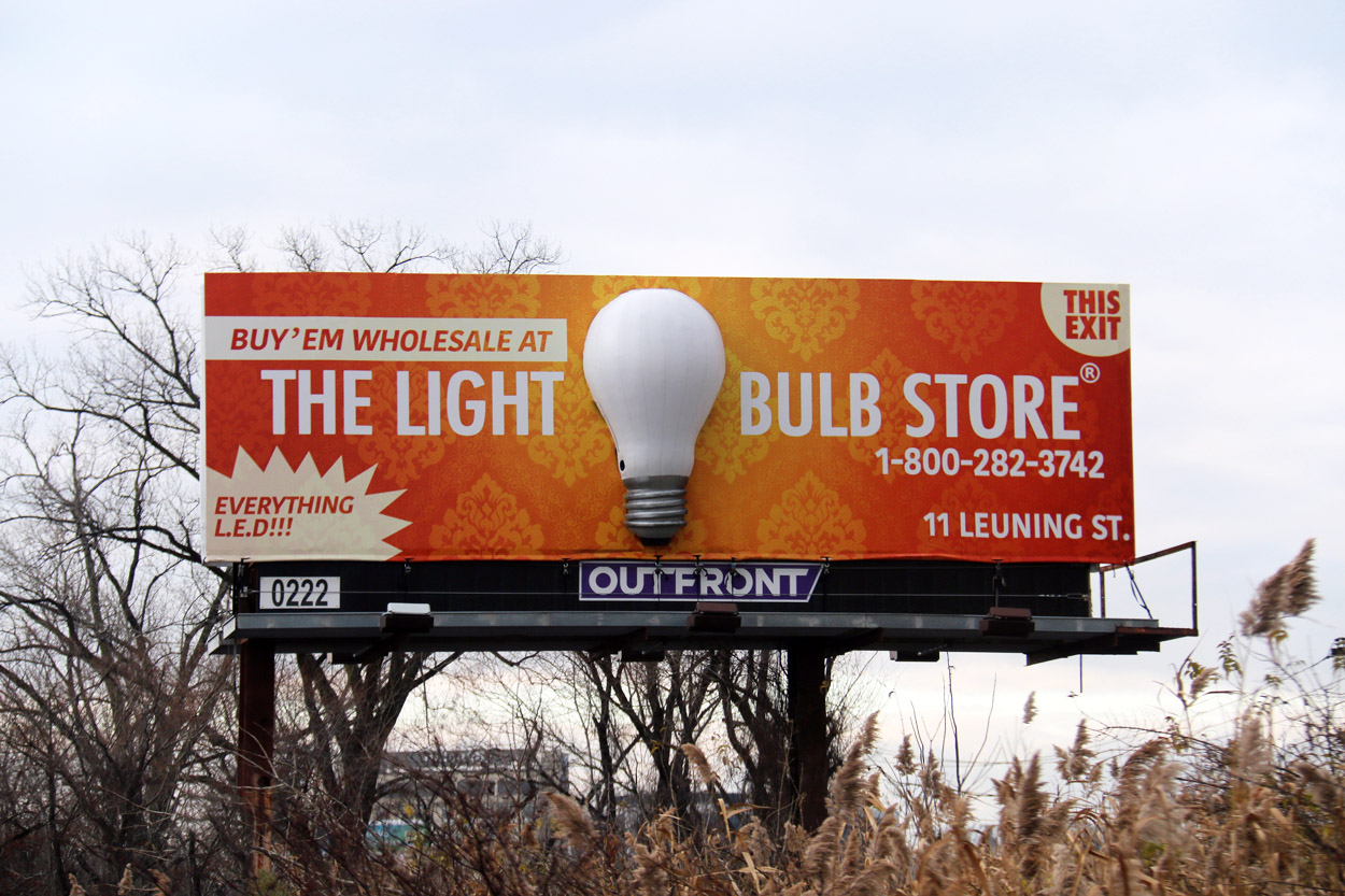 Soft Signs 3D The Light Bulb Store