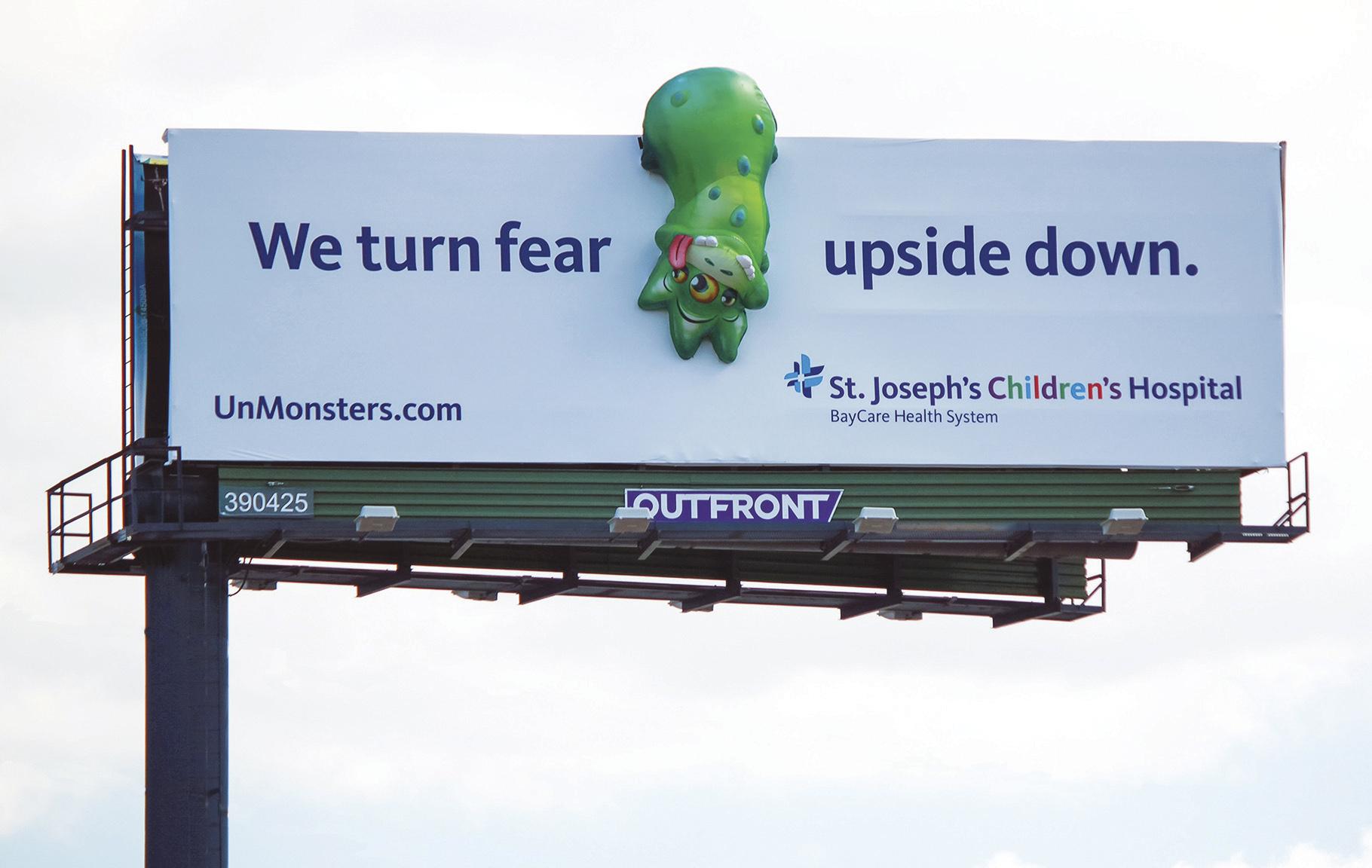 Soft Signs 3D St Joseph's Hostpital Monsters