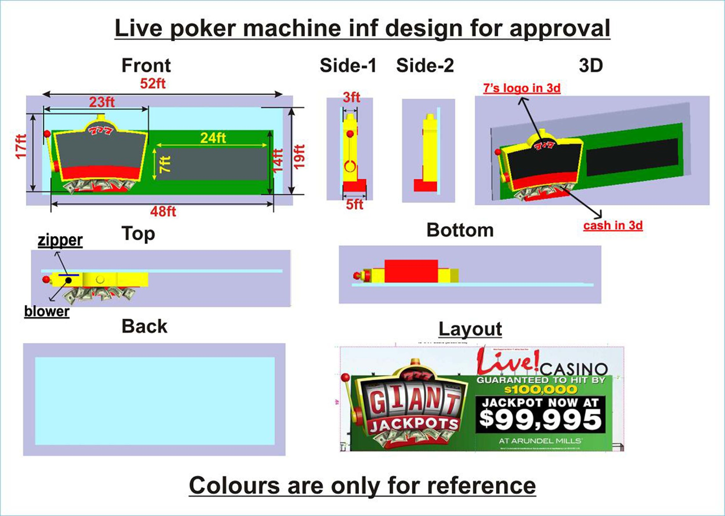 Poker Machine Creative