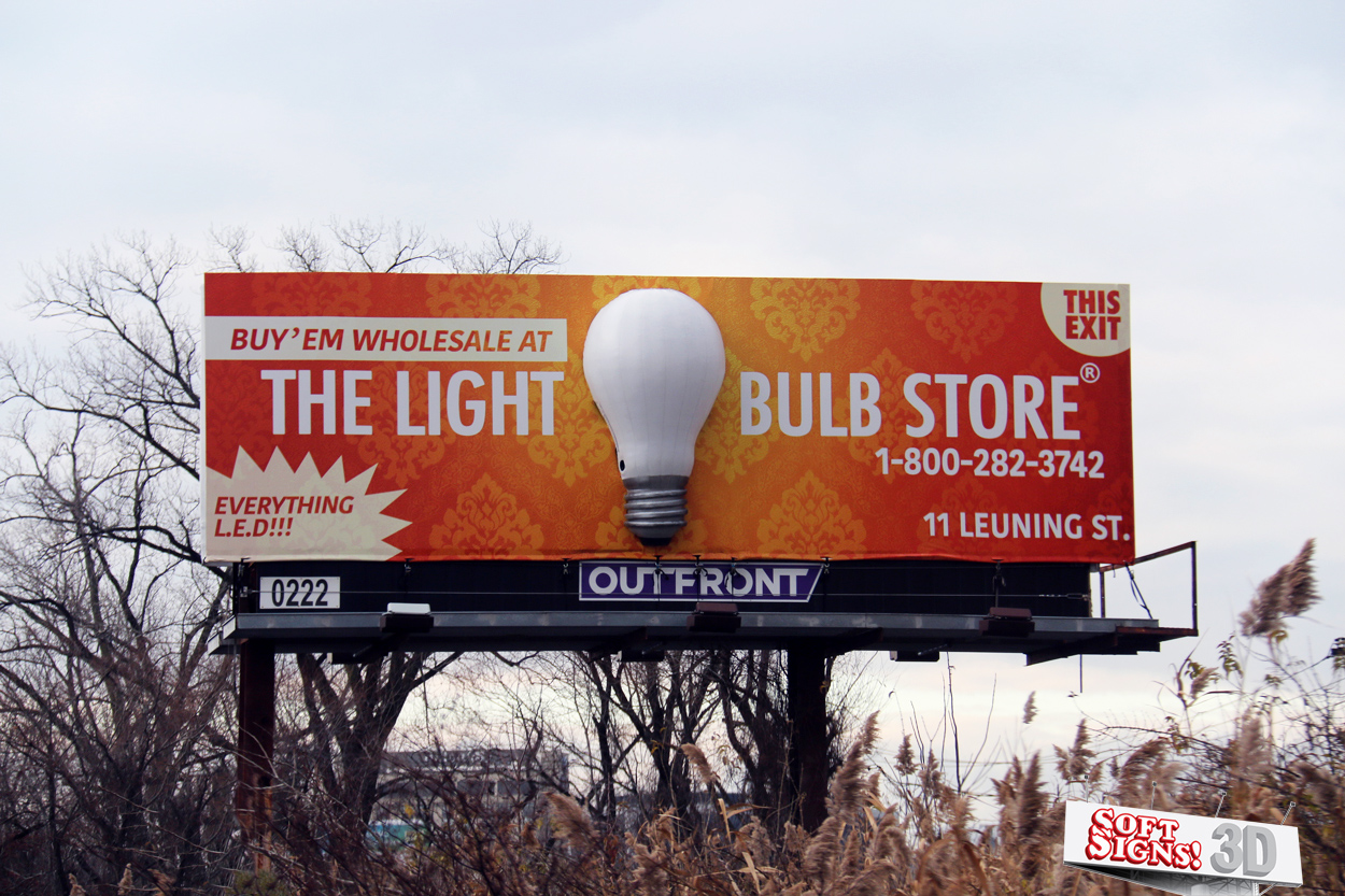 Soft Signs Light Bulb
