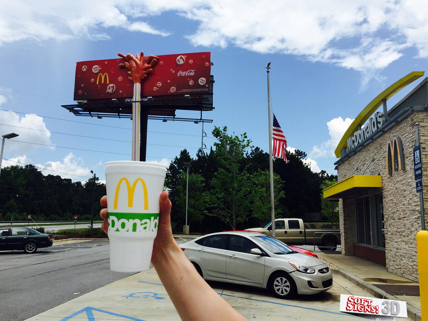 Soft Signs 3D McDonalds