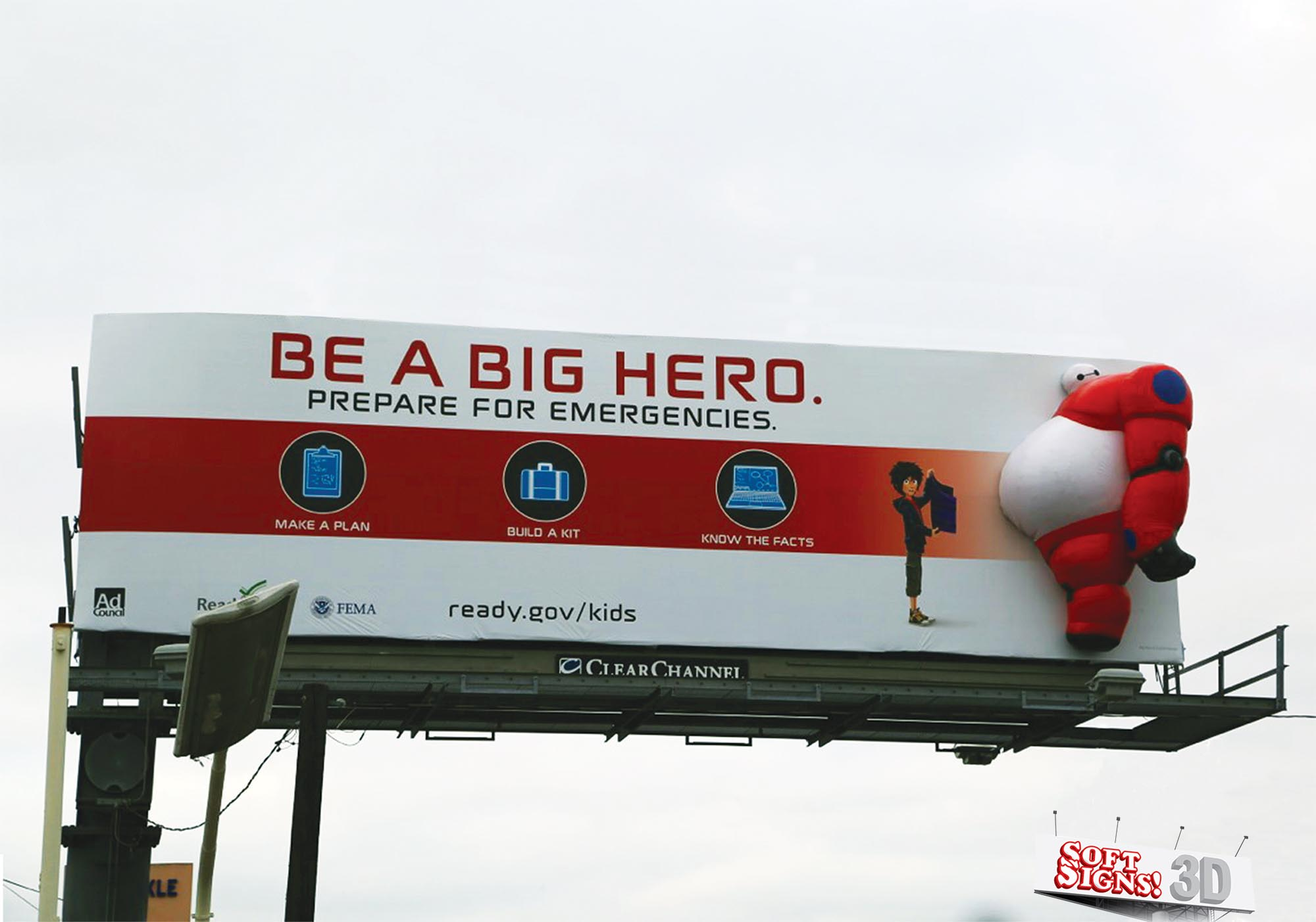 Big Hero 3D By Soft Signs 3D