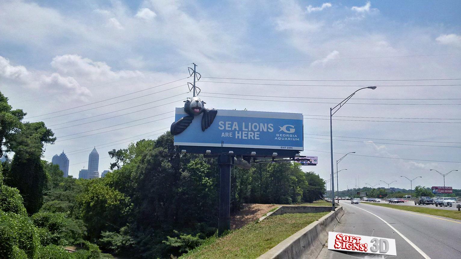 Georgia Aquarium Sea Lion 3D By Soft Signs 3D