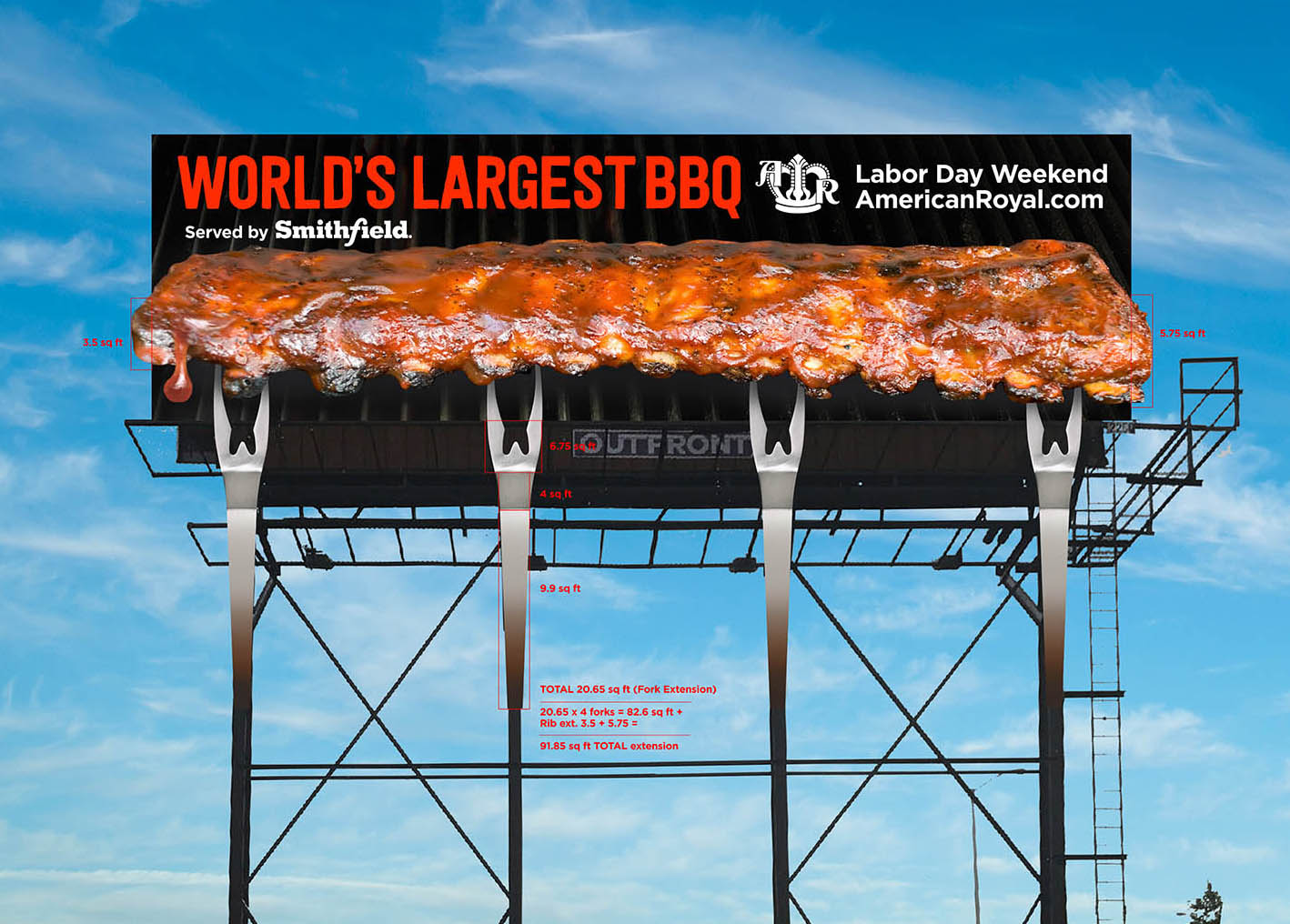 American Royal Ribs by Soft Signs 3D