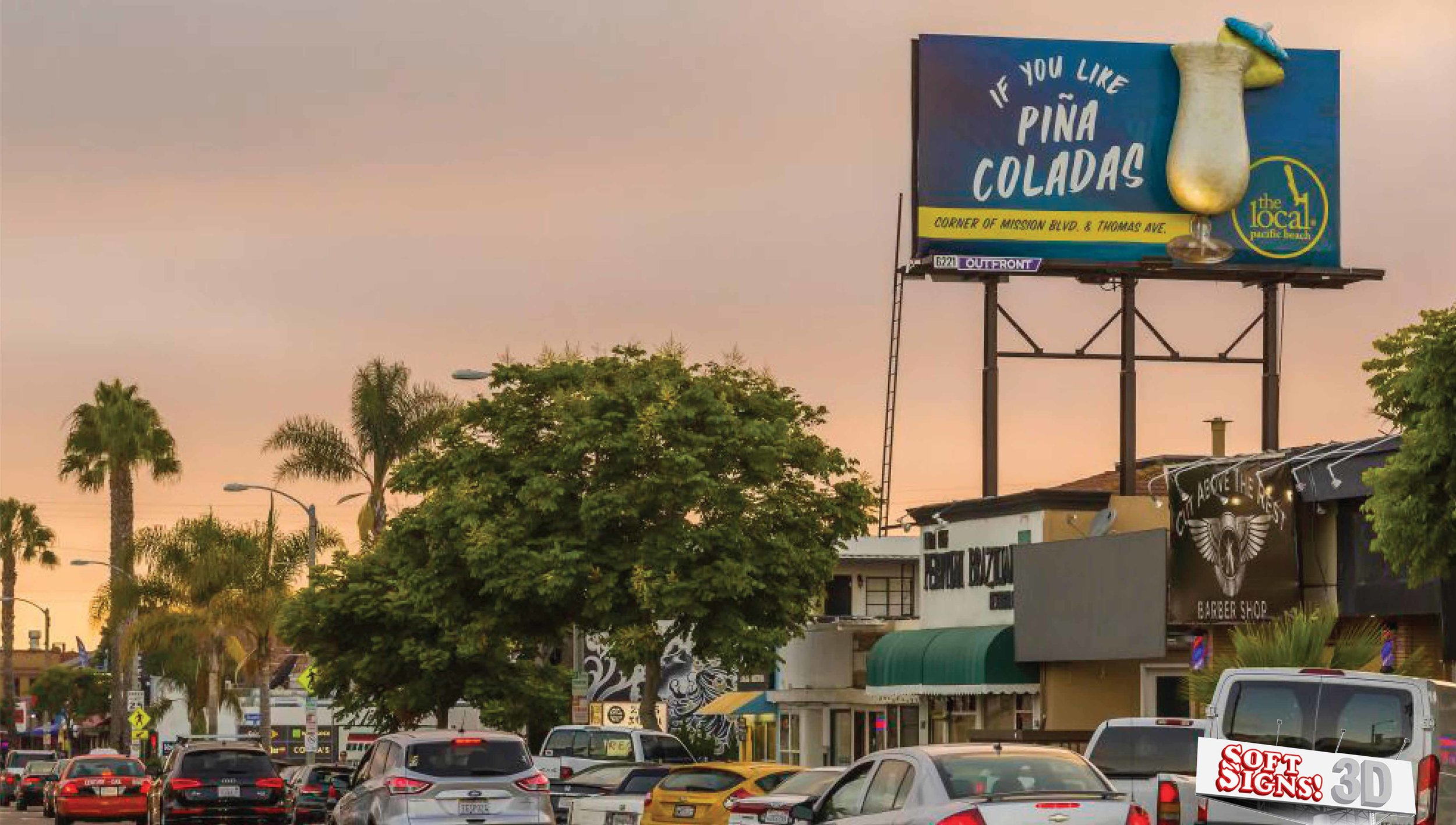 The Local PinaColada By Soft Signs 3D