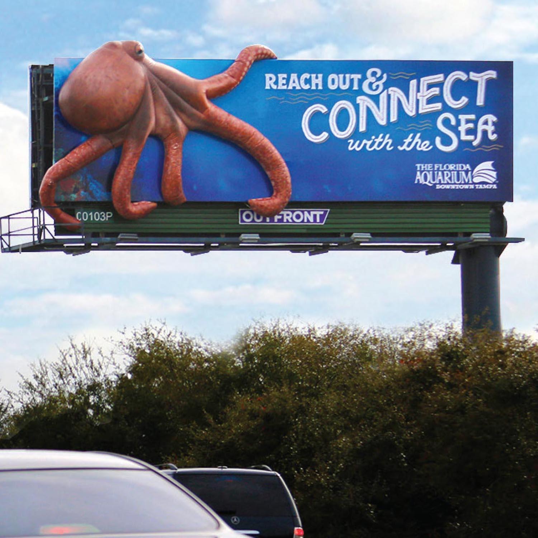 Octopus Florida Aquarium by Soft Signs 3D