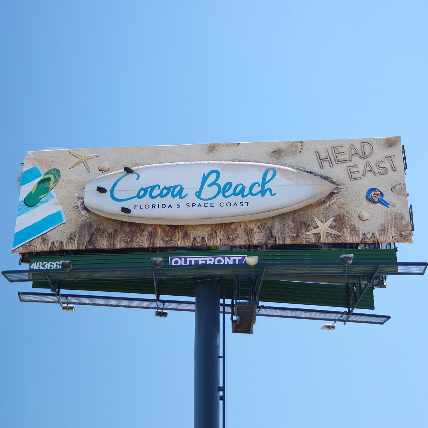 Coco Beach Surfboard by Soft Signs 3D