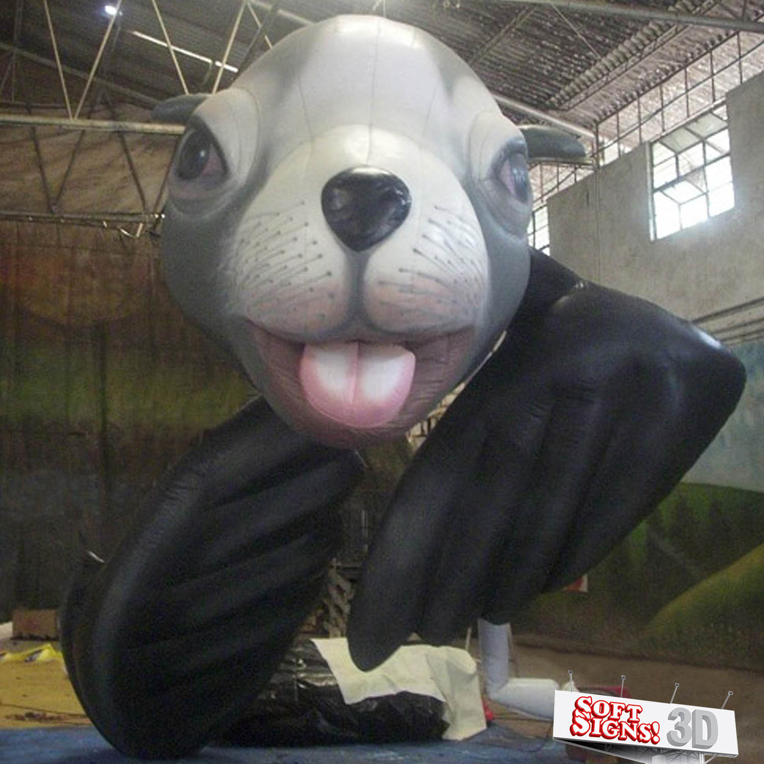 Sea Lion Air Sculpture