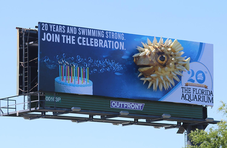 Soft Signs 3D Florida Aquarium - Puffer Fish