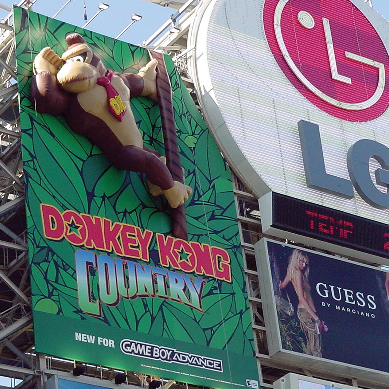 Soft Signs 3D Donkey Kong 3D