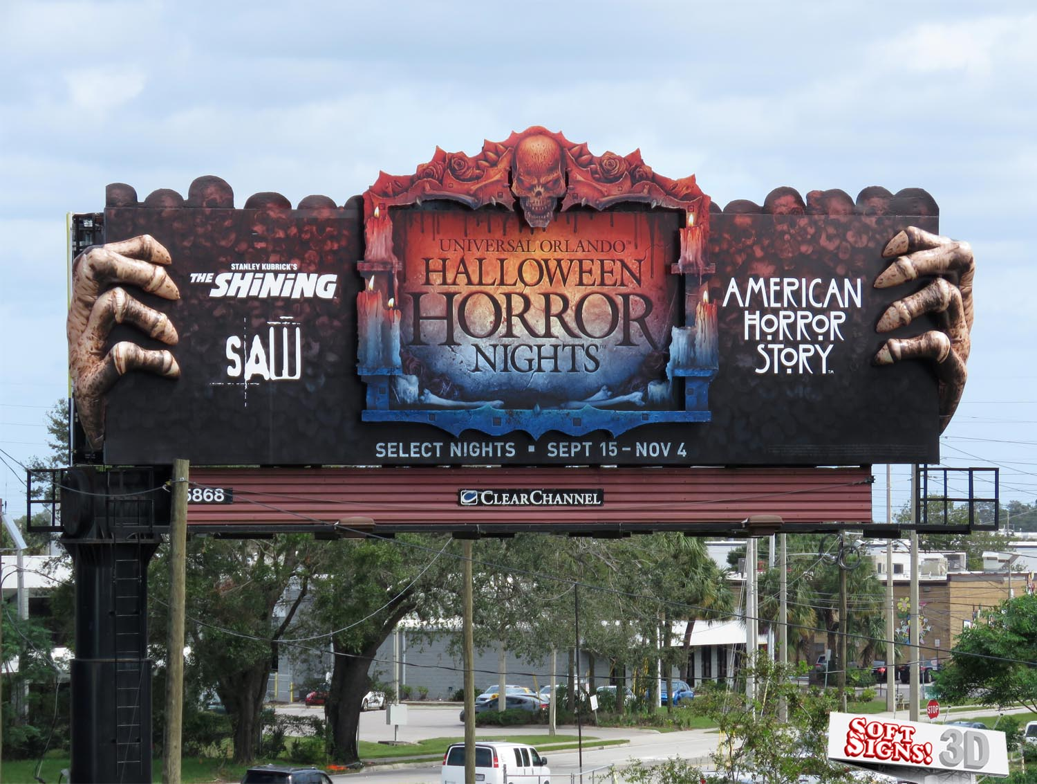 Universal Halloween Horror By Soft Signs 3D