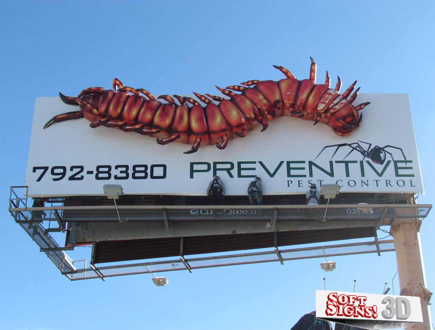 Pest Control Centipede by Soft Signs 3D
