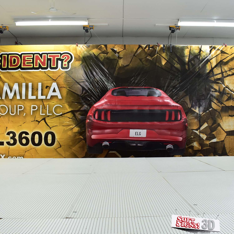 3D Billboard Mustang Install