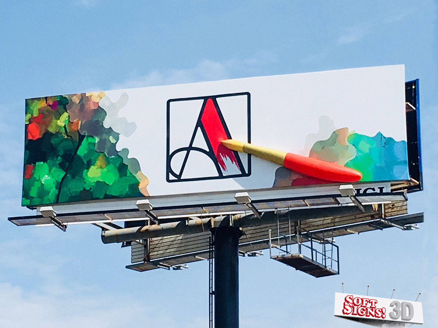 Paint Brush By Soft Signs 3D