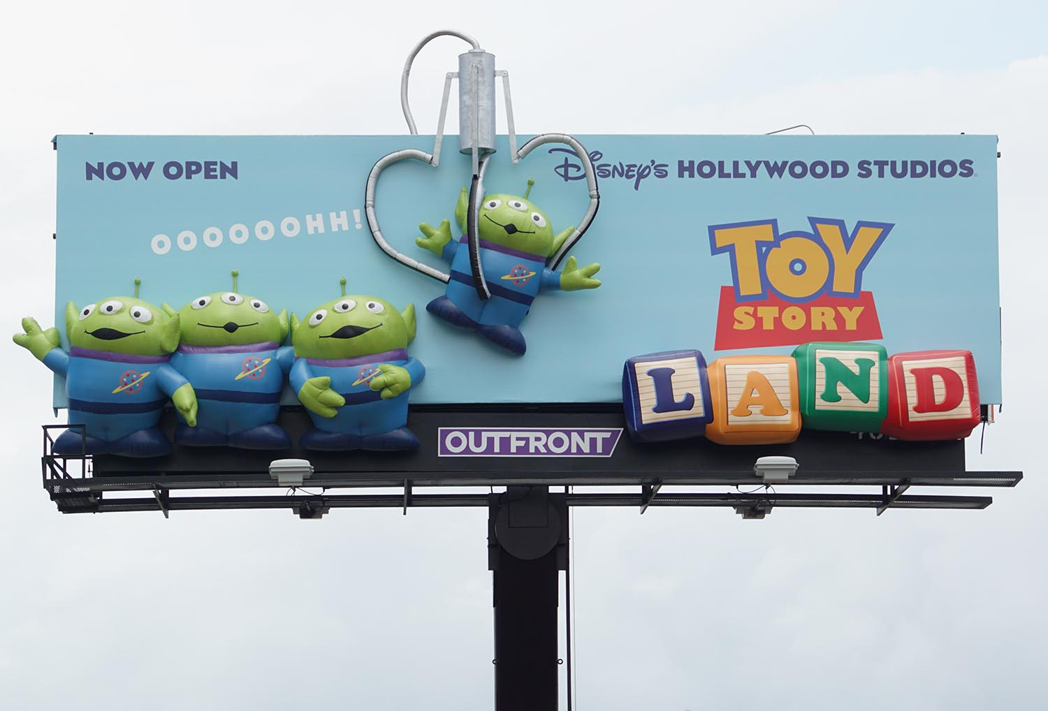 Disney Toy Story Land 3D Billboard by Soft Signs