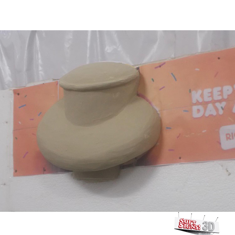 Dunkin' Donuts 3D Sculpture Process