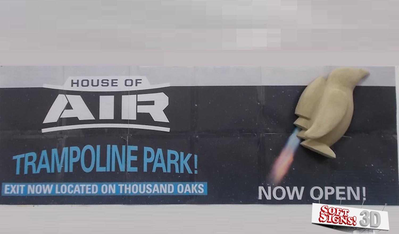 House of Air 3D Penguin Sculpture